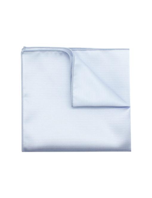 Solid Light Grey Pocket Square PSQ32.6