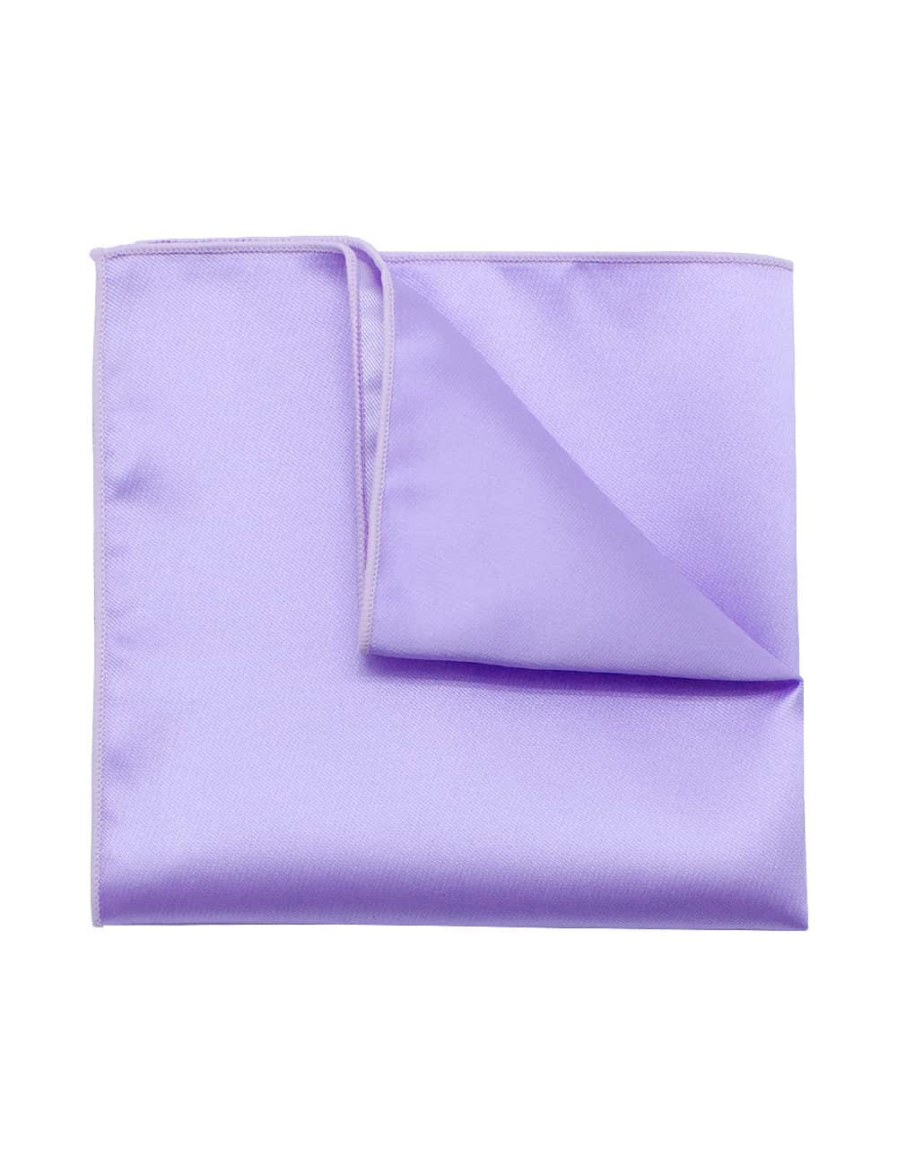 Solid Purple Haze Woven Pocket Square PSQ32.9