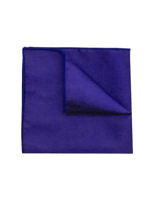 Solid Blue Nights Pocket Square PSQ36.6