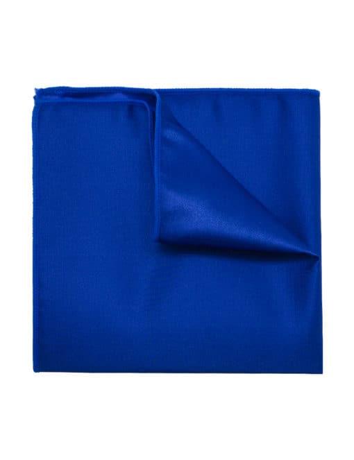Solid Ultramarine Woven Pocket Square PSQ37.9