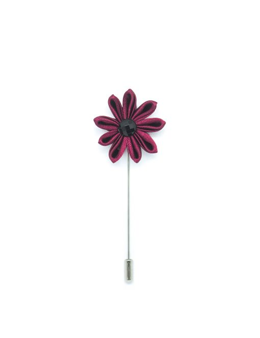 Red Floral Lapel Pin LP219.8
