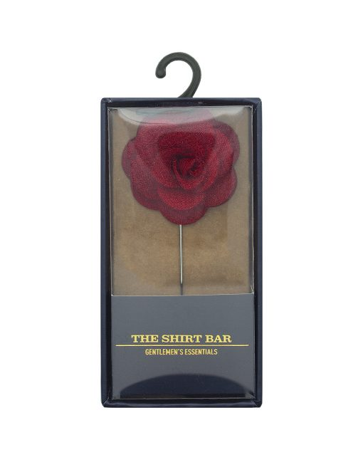 Red Rose Lapel Pin - LP1.8