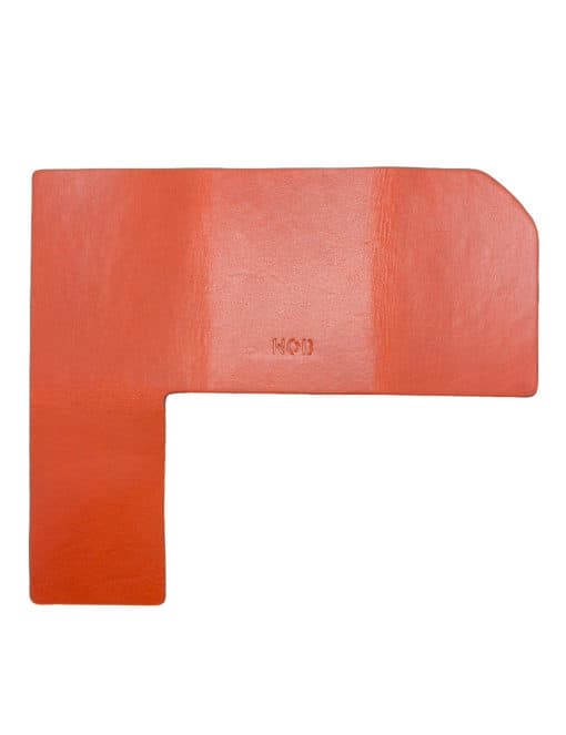 Tan 100% Genuine Top Grain Leather Money Fold SLG5.NOB1