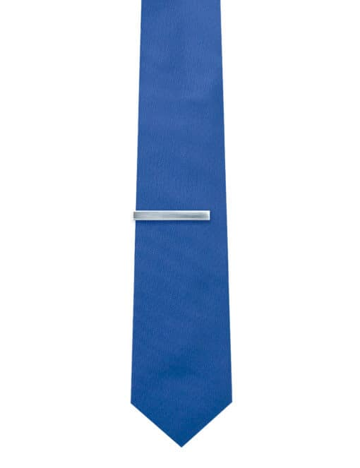Classic Brushed Silver Classic Tie Clip T101FC-018