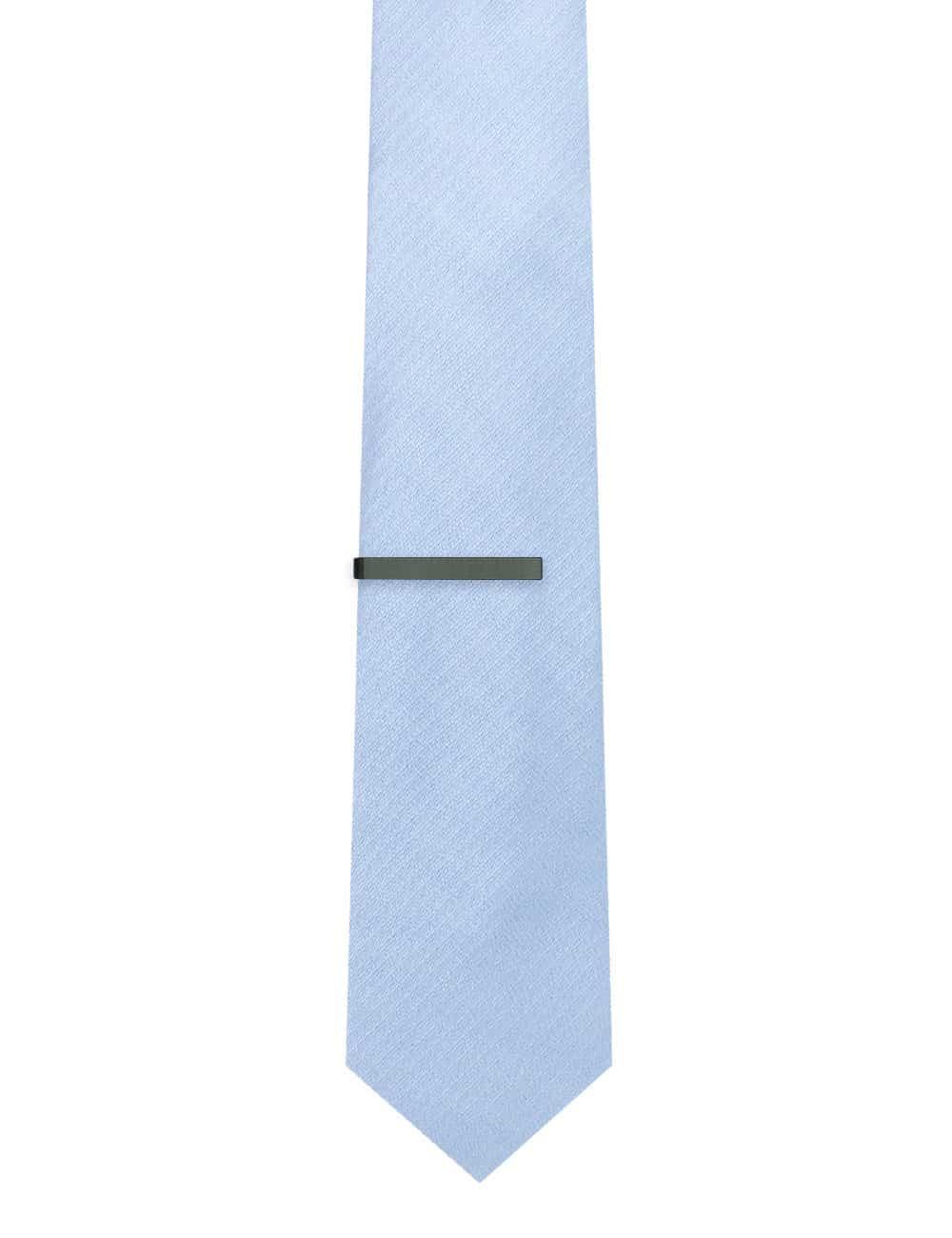 Classic Gunmetal Tie Clip T101FC-019