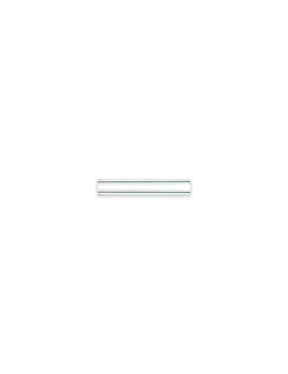 Classic Chrome with Brushed Silver Border Tie Clip T101FC-034