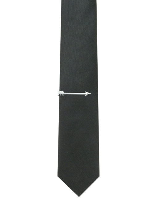 Silver Arrow Tie Clip T211NH-001B