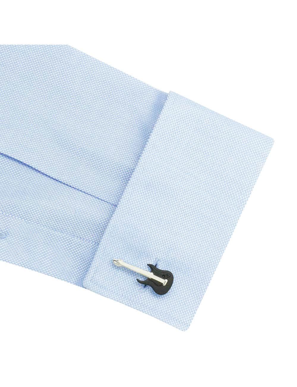TF Solid Blue Dobby 100% Premium Cotton Easy Iron Double-Ply Long Sleeve Double Cuff Shirt TF3D1.16