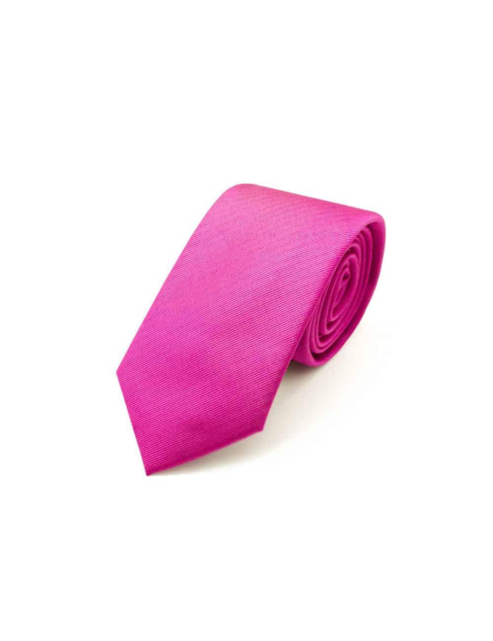 Solid Very Berry Woven Necktie NT7.4
