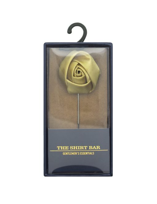 Gold Rose Lapel Pin LP252.8