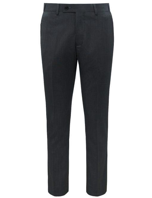 Slim / Tailored Fit Black Jetsetter Flexi Waist Smart Pocket Dress Pants DPT1E13.5