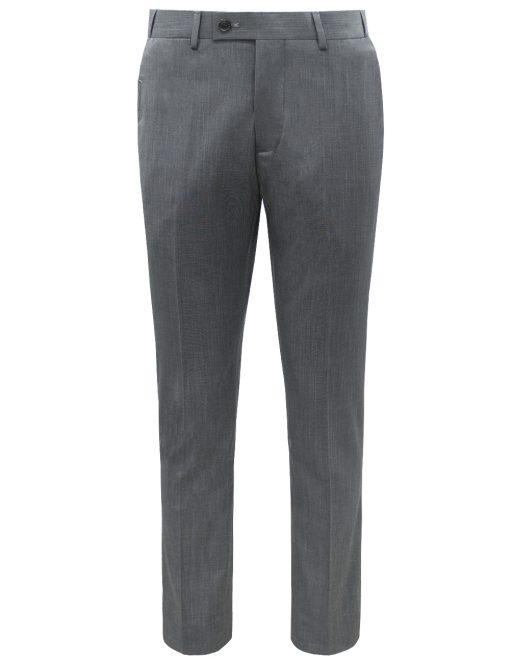 Modern / Classic Fit Grey Jetsetter Flexi Waist Smart Pocket Dress Pants - DPC1E5.5