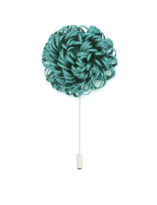 Green Twirl Floral Lapel Pin LP54.10