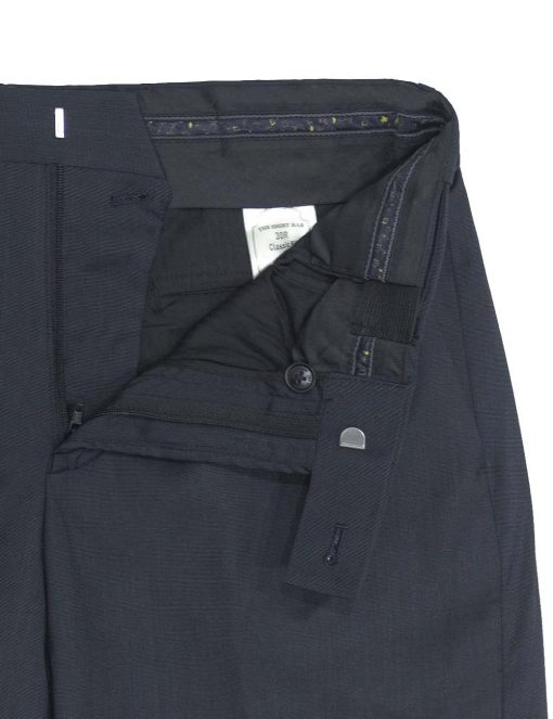 Modern / Classic Fit Navy Jetsetter Flexi Waist Smart Pocket Dress Pants – DPC1E1.5