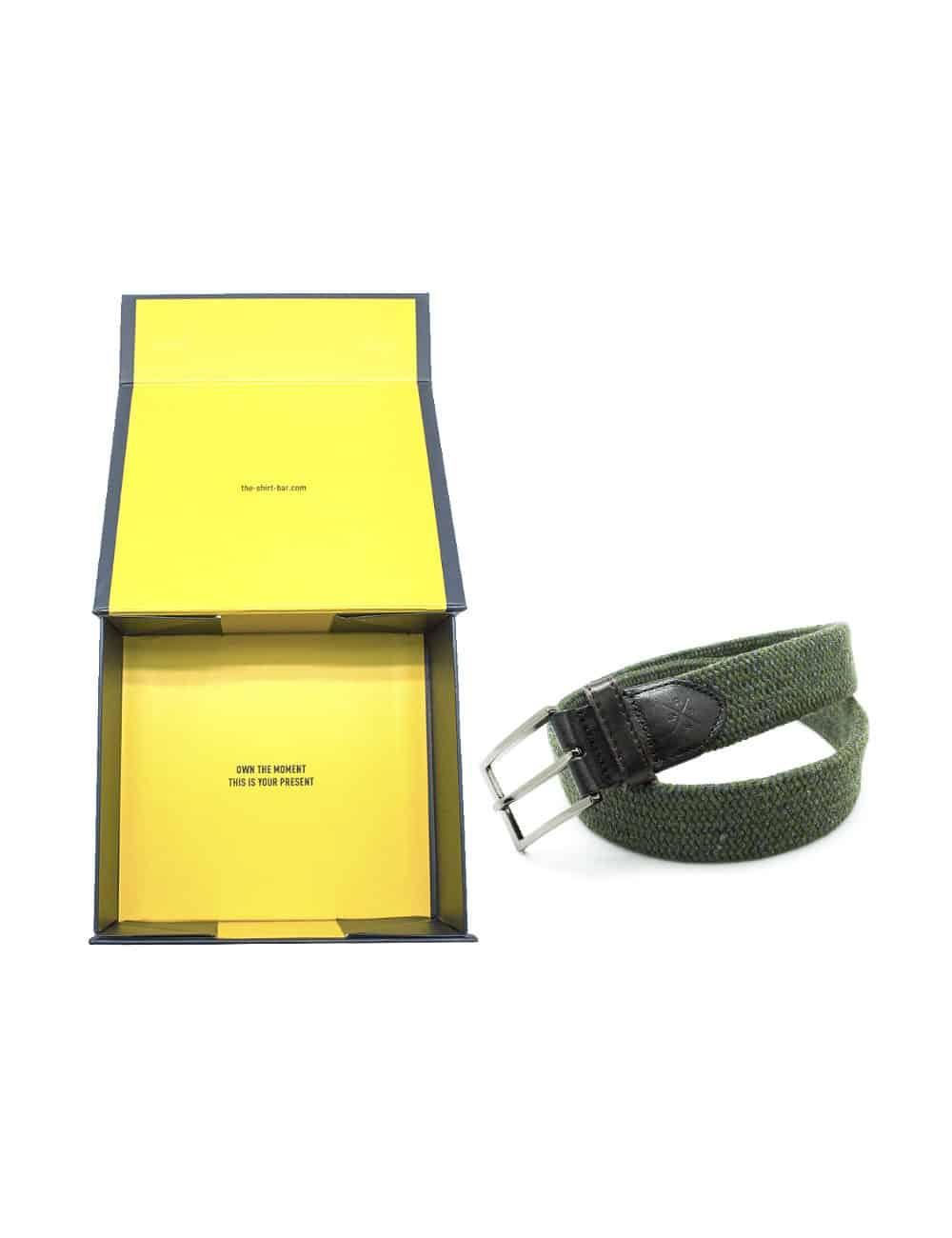 Army Green Webbing Belt NLB21.8