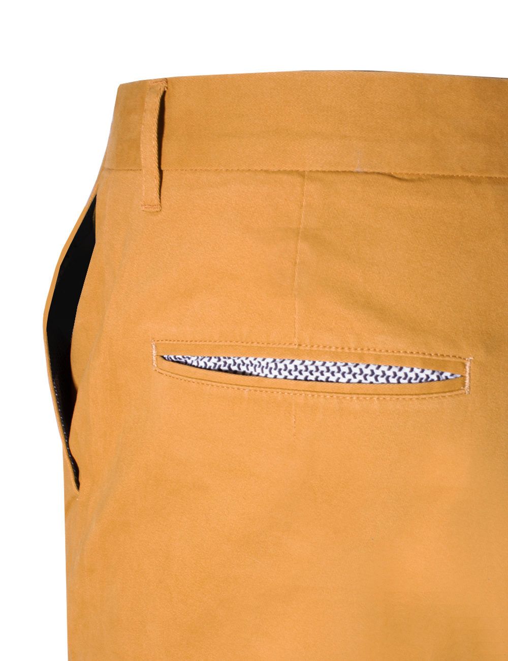 Slim Fit Bronze Casual Pants CPSFA7.2