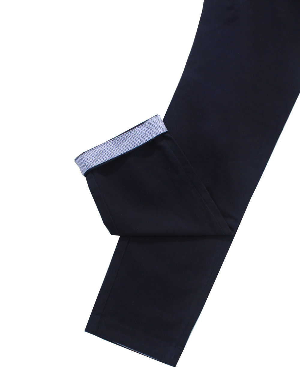 Slim Fit Blue Casual Pants CPSFA4.2