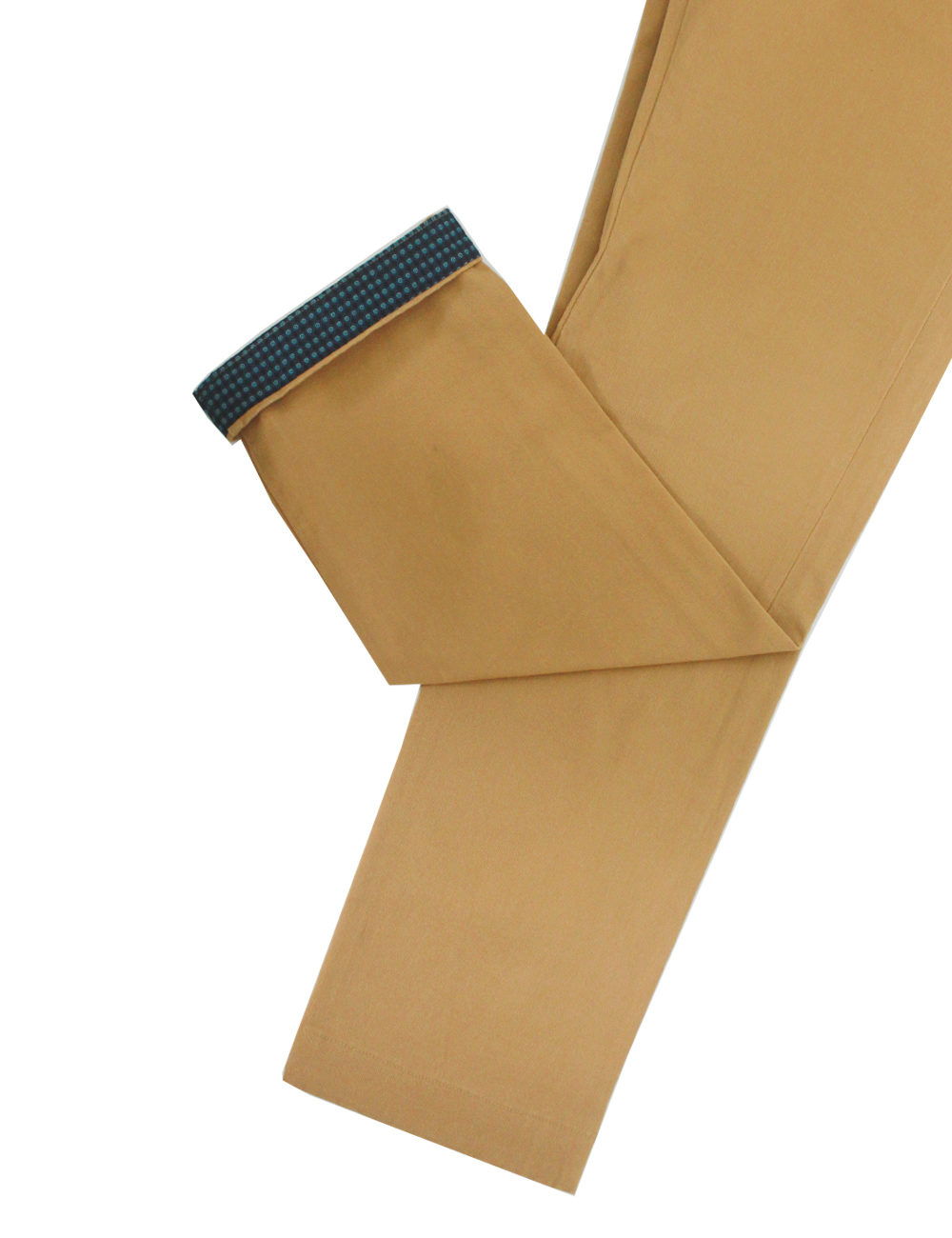 Slim Fit Camel Casual Pants CPSFA1.2