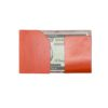 Tan 100% Genuine Top Grain Leather Money Fold SLG5.NOB1