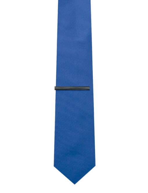 Twill Black Tie Clip T101FC-020