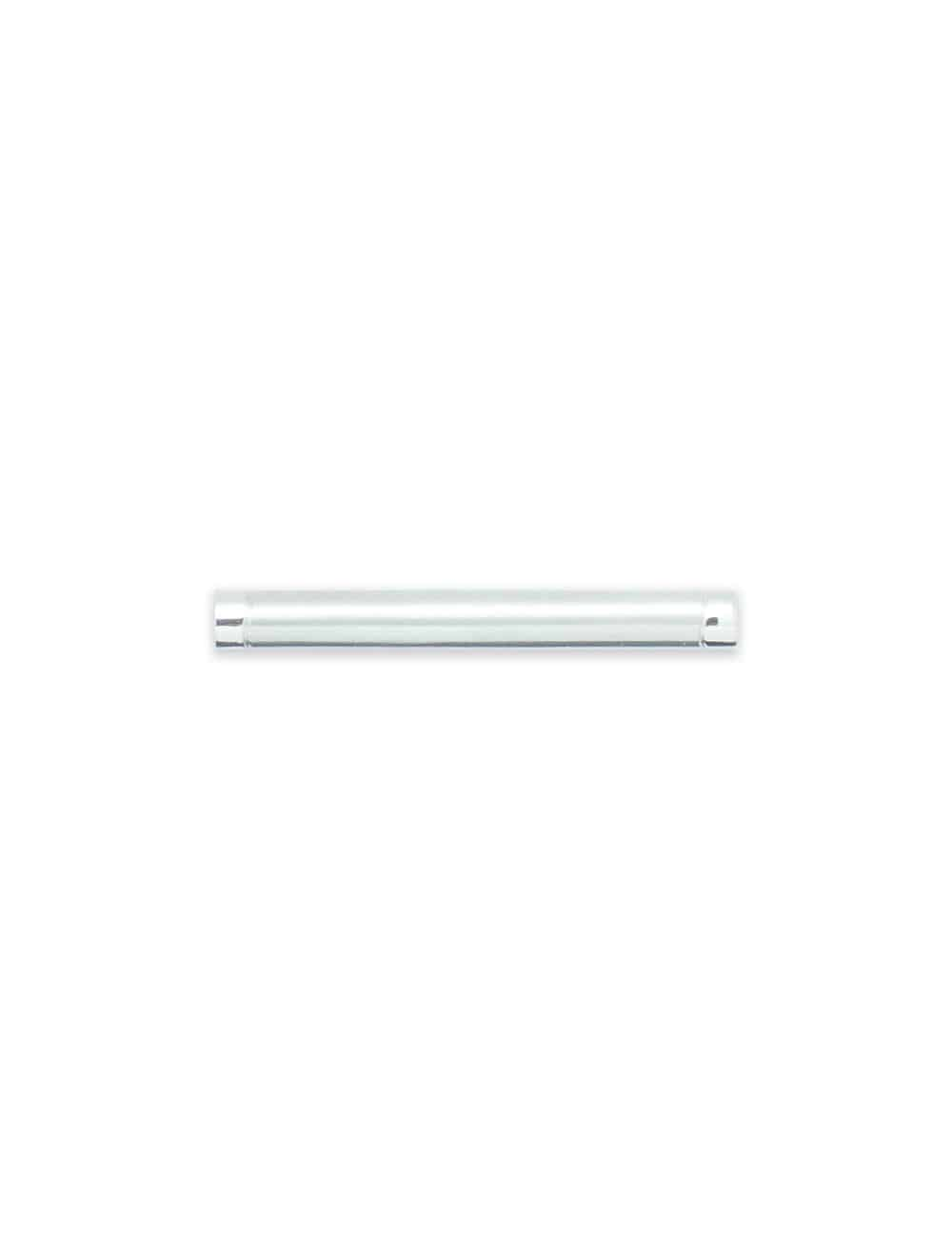 Classic Brushed Silver Centre Tie Clip T101FC-026