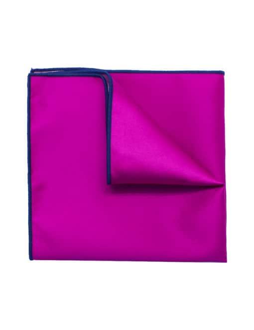 Solid Carmine Pink Pocket Square PSQ22.9