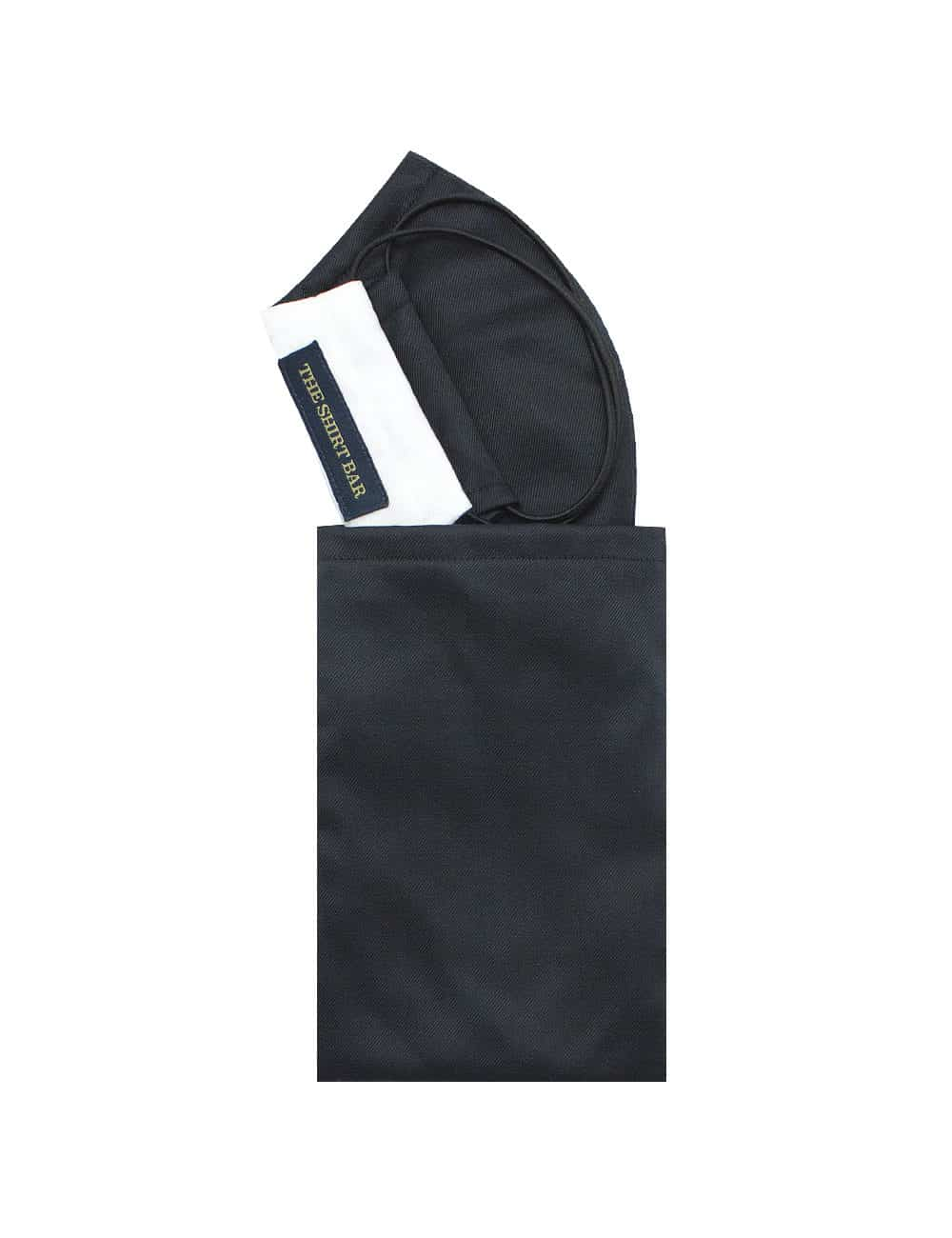 Black / White Duality Reusable Face Mask with Pouch FM22.1