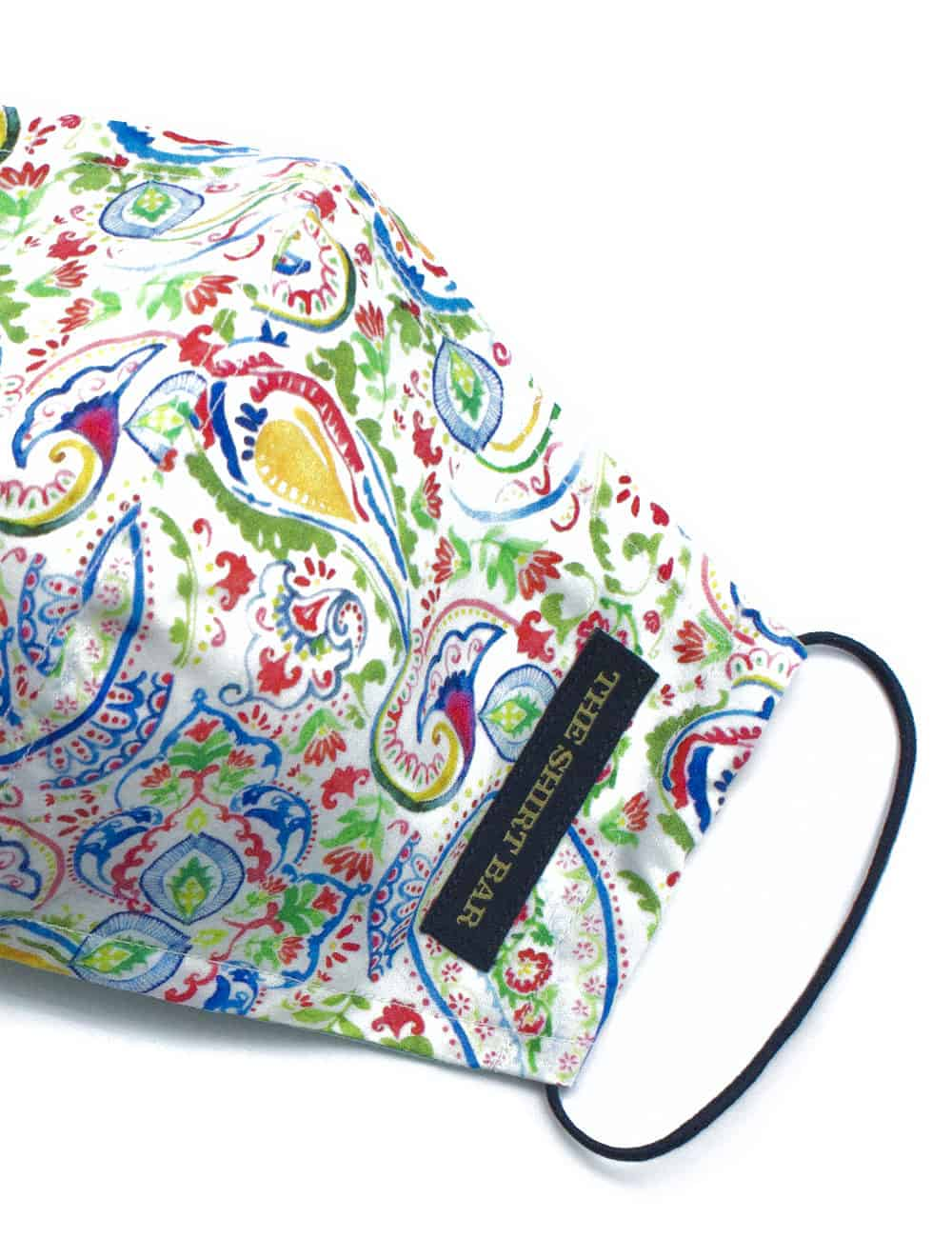 Green Colourful Cultural SG Inspired Reusable Mask - FM14.1