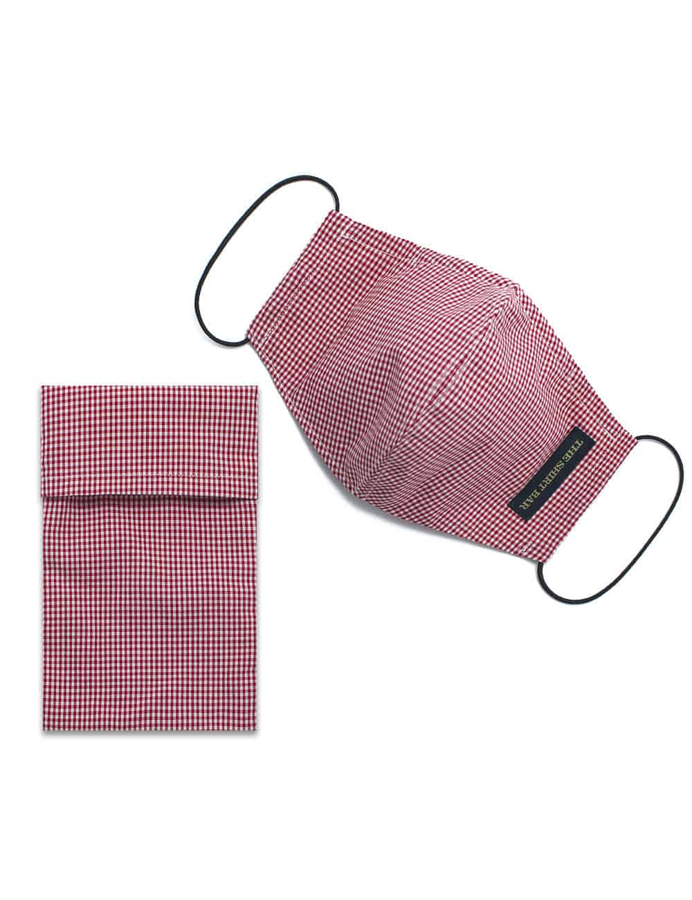 Red House SG Inspired Checks Reusable Mask with Pouch - FM23.1
