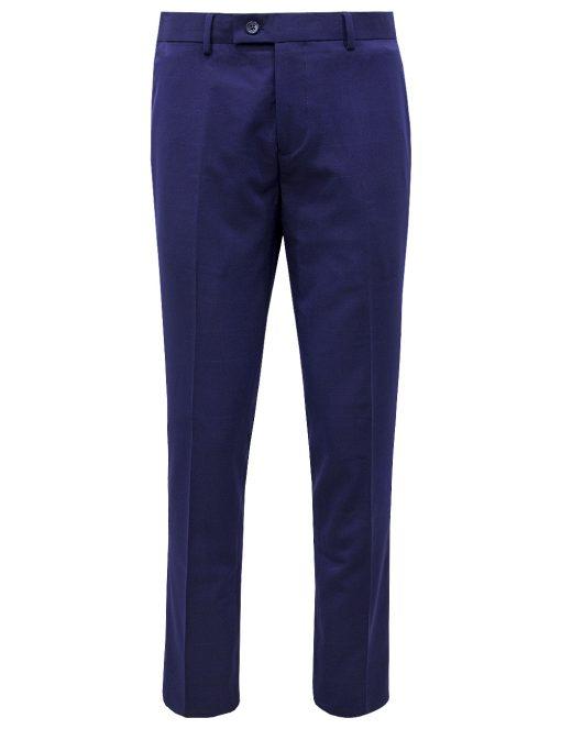 Peacoat Navy Checks Dress Pants - DP1A11.4