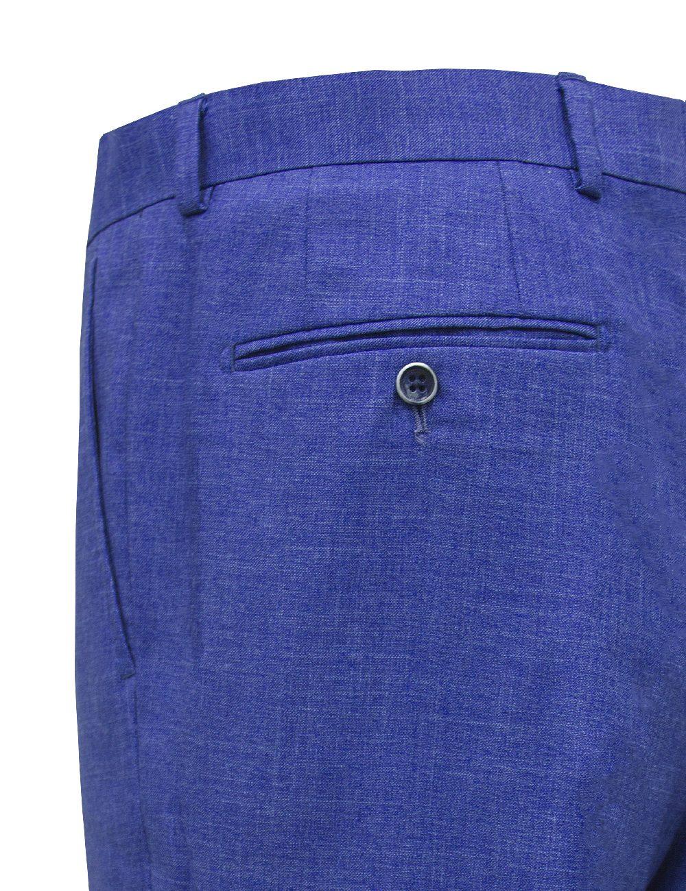 Modern / Classic Fit Colony Blue Dress Pants - SP8.3-SS8.3
