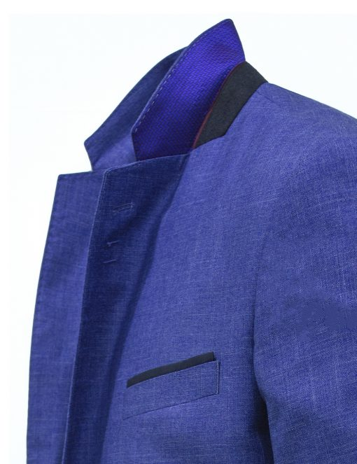 Modern Fit Colony Blue Suit Jacket - SS8.3