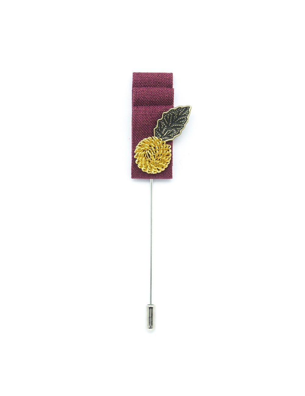 ink with Gold Leaf Lapel Pin LP208.8