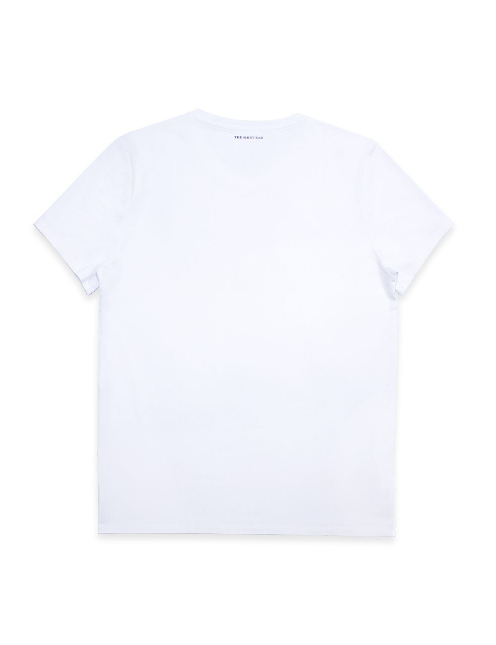 """""""Kind of Fun"""" White Crew Neck Slim Fit T-Shirt - TS4A2.2"""