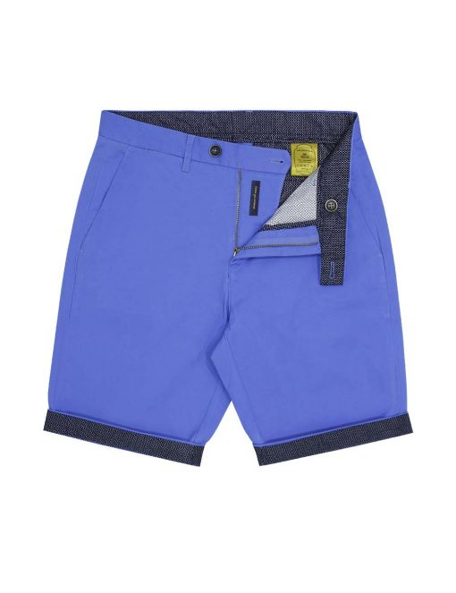 Seattle Blue Casual Slim Fit Shorts - CSA5.4