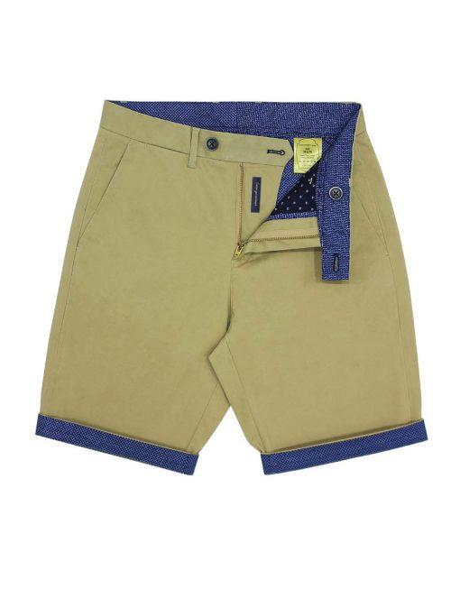 Slim Fit Khaki Shorts - CSA2.4