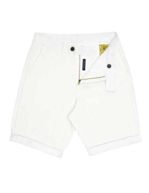 Slim Fit White Shorts - CSA1.4