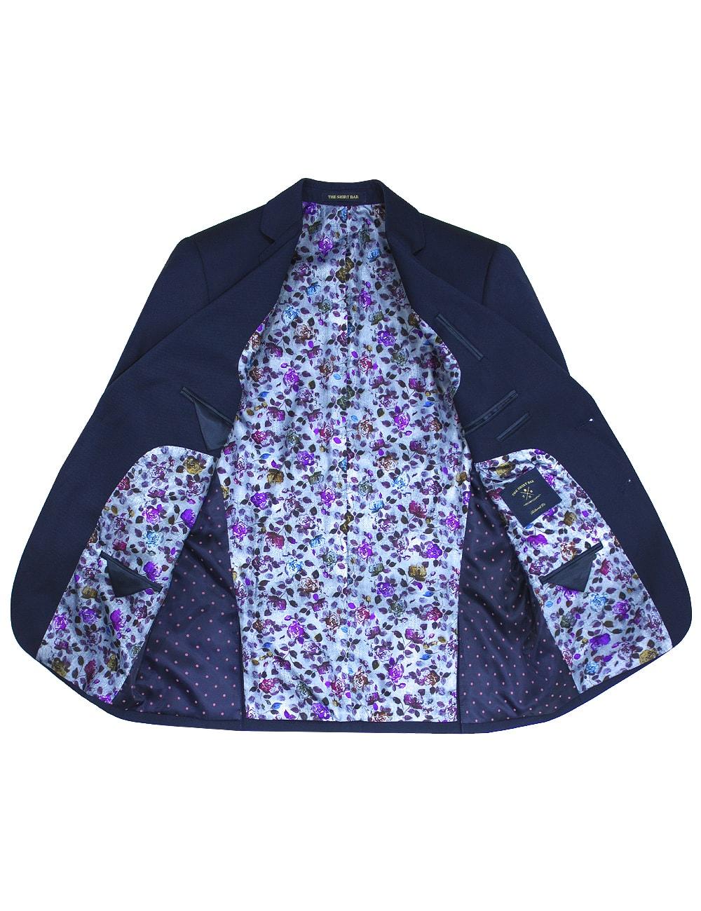 Slim / Tailored Fit Navy Suit Jacket SJ4.3-SS4.3