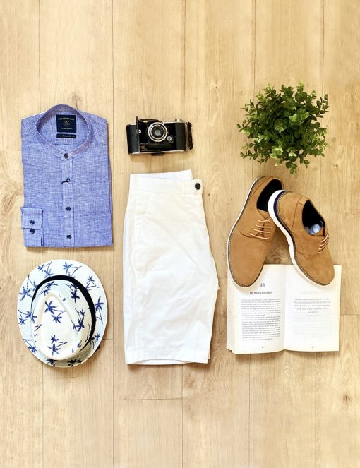 """LOOK 19: Mr """"Brunch and Beach"""""""